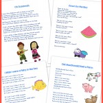 20 Best Preschool Songs {free printable!}