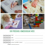 Preschool Homeschooling Schedule {free printable!}