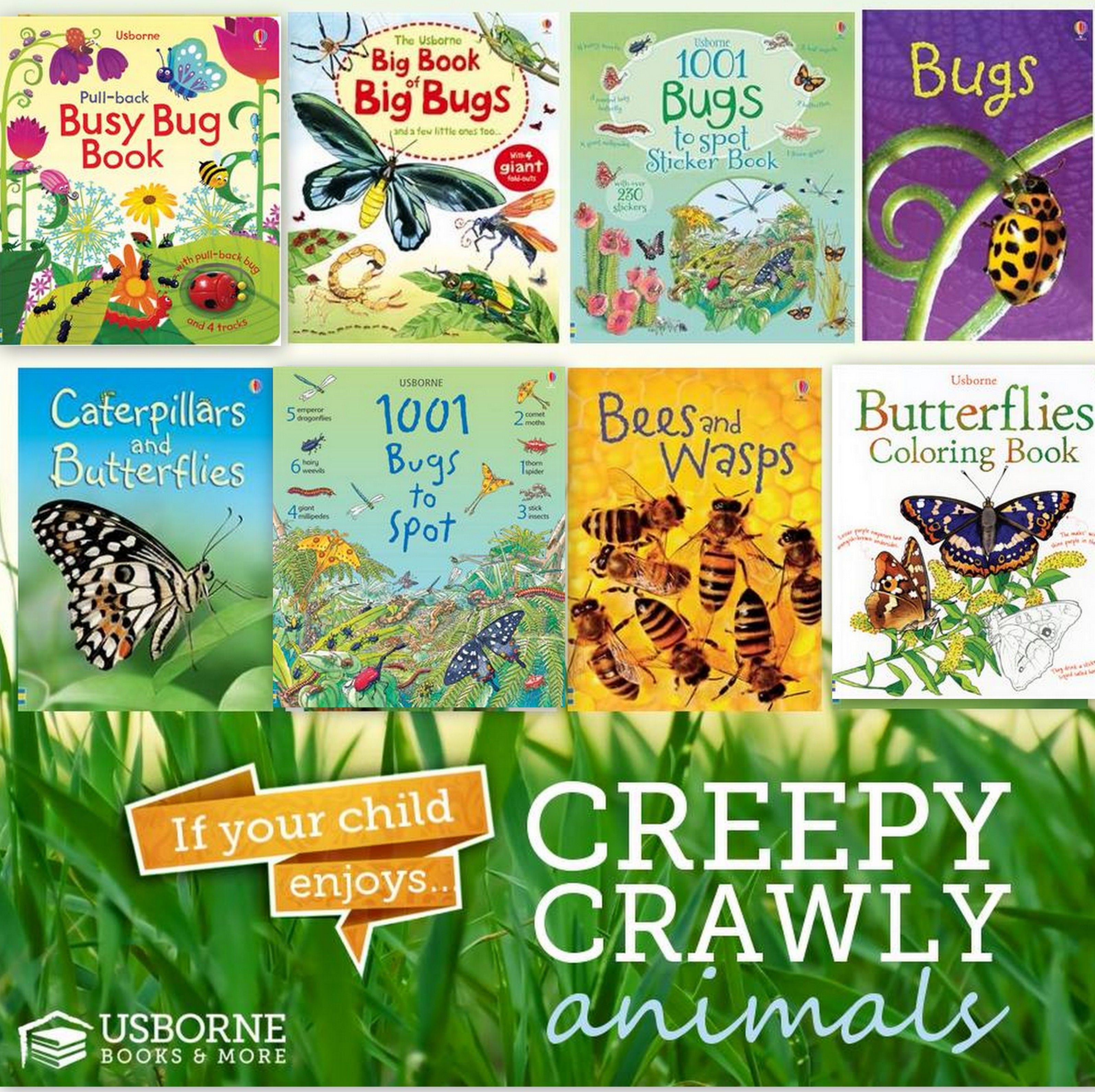 best books about bugs for kids - Wildflower Ramblings