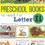 preschool books for letter i