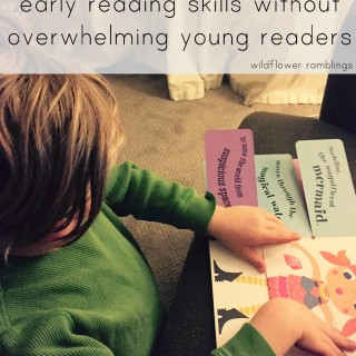 teaching early reading without overwhelming beginning readers