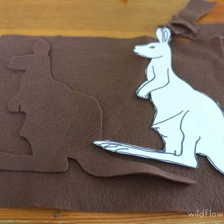 How to make a Felt Kangaroo