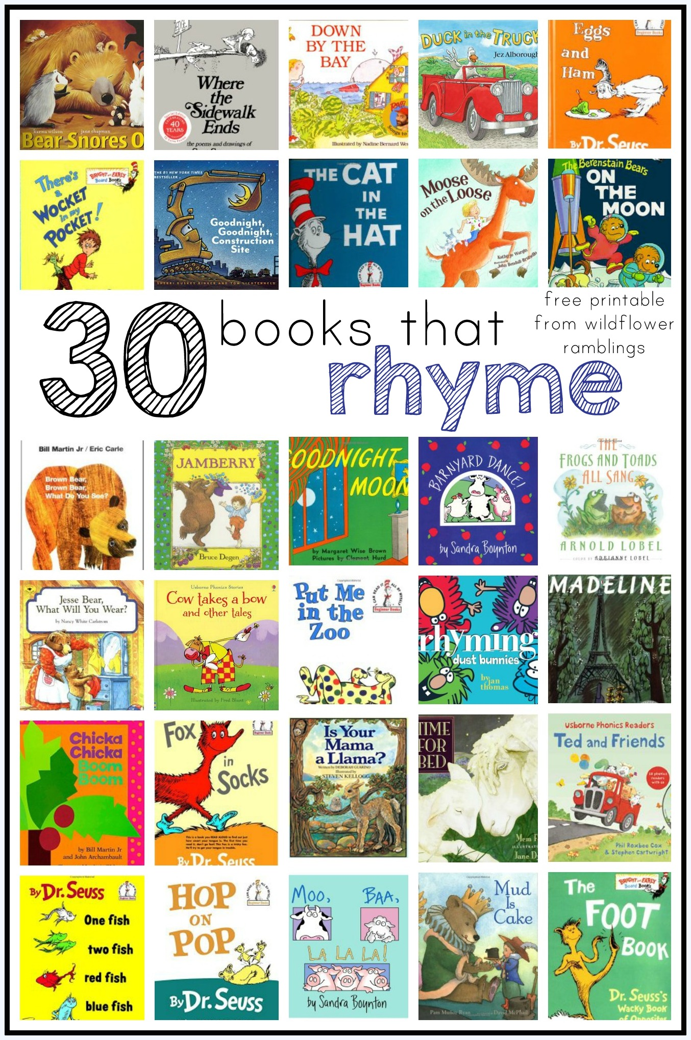 Printables 5 Rhyming Words worksheet 5 rhyming words mikyu free best books for children wildflower ramblings children