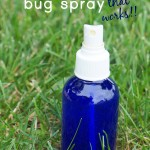 homemade bug spray with essential oils