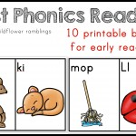 First Phonics Readers {Book 1}
