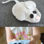 How to make a Felt Mouse
