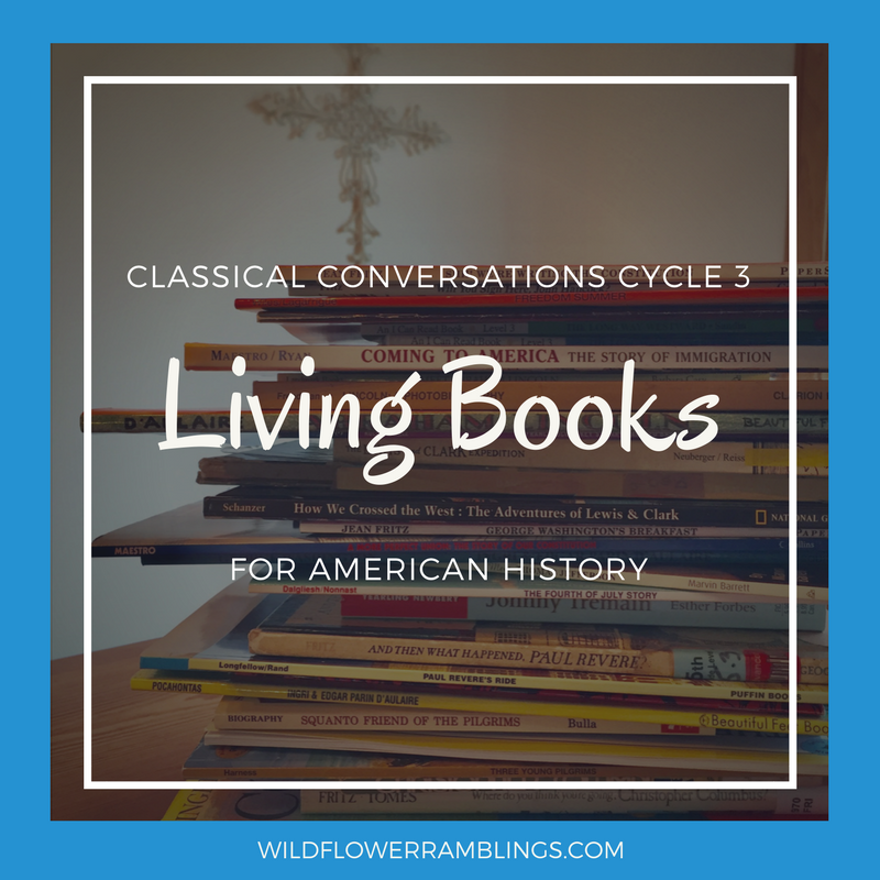 Living books for american history classical conversations cycle 3 i hope this list has been helpful to you and your homeschooling family thank you so much for visiting blessings fandeluxe Images
