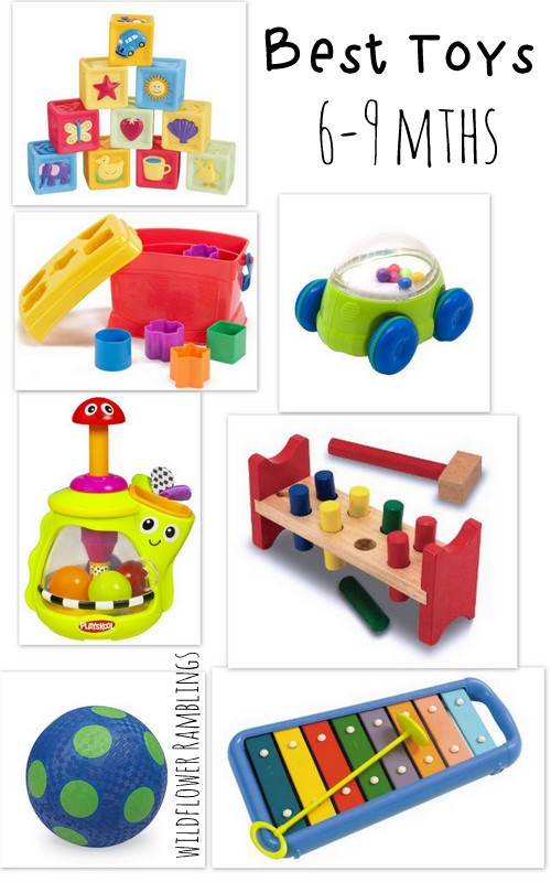 Toys for Babies 6 to 9 Months