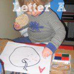 Tot School – Letter A