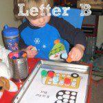 Tot School – Letter B