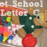 Tot School – Letter C