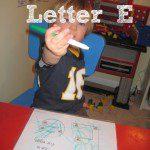 Tot School – Letter E