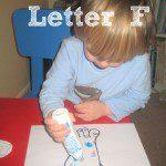 Tot School – Letter F