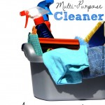 Easy and child-safe multi-purpose cleaner