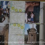 Finishing my photo album 5 years after my Israel trip…. thanks {Project Life}