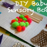 DIY Baby Sensory Board - Baby Play - Wildflower Ramblings