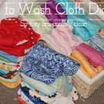 Cloth diapers: How to wash them so they are actually clean