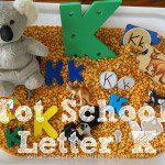 Tot School – Letter K