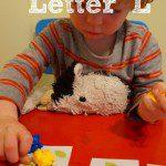 Tot School – Letter L