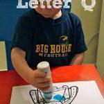 Tot School – Letter Q