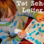 Tot School: Letter R