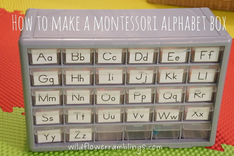 box letter alphabet how to make a montessori alphabet box wildflower ramblings 210