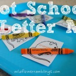 Tot School – Letter M