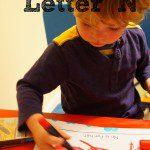 Tot School – Letter N