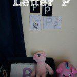 Tot School – Letter P