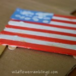 Fourth of July fun flag crafts