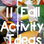 tot school: 11 fall activity ideas