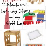 11 Montessori items on my wishlist