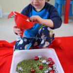 Merry Christmas Sensory Bin