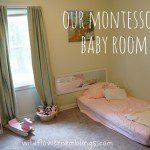 Our Montessori Baby Room {& Peter Rabbit Nursery}