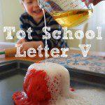 Tot School: Letter V