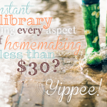 Ultimate Homemaking Bundle — lots of amazing books for moms for one very low price
