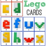 Alphabet Lego Cards: Lowercase {free printable!}