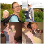 remembering babywearing with my son
