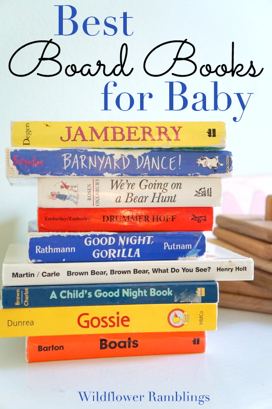 best board books for baby - wildflower ramblings