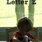 Tot School: Letter Z