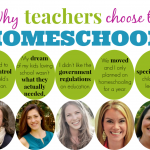 Why teachers choose to homeschool {series at Hip Homeschool Moms}