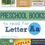 best preschool books for the letter a