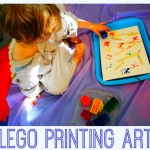 simple lego printing art – an easy father's day project