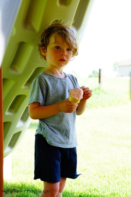 delicious & edible for baby! ice cream play dough shop - Wildflower Ramblings #sensory