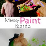 Messy Paint Bombs {and a lesson in parenting and knowing my child}