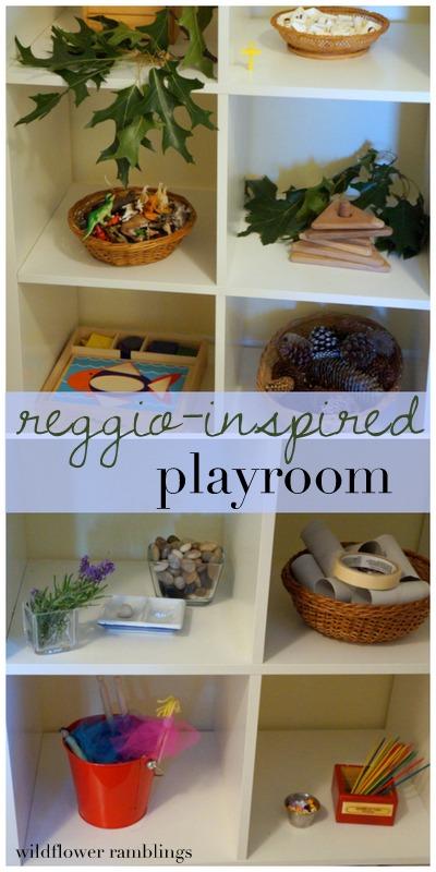 Reggio Playroom - Wildflower Ramblings