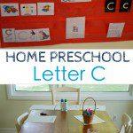 Home Preschool: Letter C