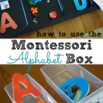 how to use the montessori alphabet box