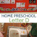 Home Preschool: Letter D