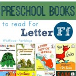 preschool books for the letter f